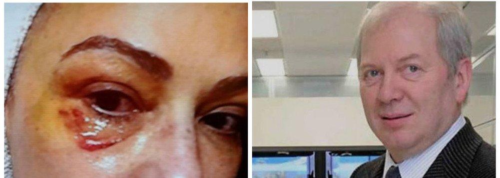 O advogado Pedro Egberto da Fonseca Neto, que defende a atriz Luíza Brunet, guardou alguns trunfos para implodir de vez as dúvidas sobre a agressão que ela sofreu do empresário Lírio Parissotto; o Ministério Público obteve um vídeo, gravado com o celular da artista, em que o bilionário aparece chutando a ex-namorada sem piedade; a informação é da coluna Radar; a defesa do empresário nega a agressão e tem dito que a atriz está inventando agressões por, supostamente, querer R$ 100 milhões de indenização