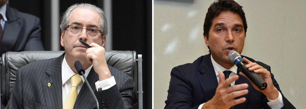 """Jornalista Fernando Brito, do Tijolaço, relembra que, há três dias, a Folha de S. Paulo publicou, com base no depoimento do ex-dirigente da Caixa Fábio Cleto, que """"do valor total da propina informada, a divisão era a seguinte:80% para Eduardo Cunha, 12% para (Lúcio) Funaro, 4% para Cleto e 4% para (Alexandre) Margotto""""; """"Se ainda sei fazer contas, se 4% são R$ 7,3 milhões, 80% são R$ 146 milhões"""", diz"""