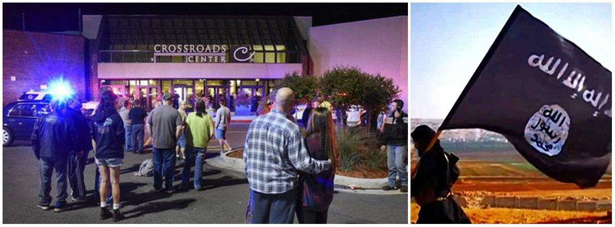 """Aagência Amaq, órgão de propaganda do Estado Islâmico (EI), informou que oataque com faca que deixou oito feridos em um centro comercial de Minnesota, norte dos EUA, foi lançado por um soldado do grupo, que foi morto; """"O autor dos ataques com faca em Minnesota ontem (sábado à noite) era um soldado do Estado Islâmico, que respondeu às convocações para tomar como alvos os cidadãos dos países membros da coalizão dos cruzados"""", indicou a Amaq; o crimeaconteceu no mesmo dia em que uma explosão em Nova York, feriu pelo menos 29 pessoas; neste caso, os investigadores dizem não ter encontrado evidências de """"conexão com terror"""""""