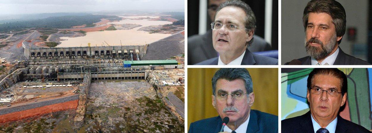 Supremo Tribunal Federal (STF) decidiu abrir inquérito para investigar integrantes da cúpula do PMDB para apurar o suposto pagamento de propina na construção da usina hidrelétrica de Belo Monte, no Pará; ação do procurador-geral da República, Rodrigo Janot, que tramita em segredo de Justiça, tem como alvo o presidente do Senado, Renan Calheiros (PMDB-AL), e os senadores Valdir Raupp (PMDB-RO), Romero Jucá (PMDB-RR) e Jader Barbalho (PMDB-PA); inquérito tem como base delações premiadas, como a do ex-senador Delcídio do Amaral (sem partido-MS) e de Luiz Carlos Martins, ligado à construtora Camargo Corrêa