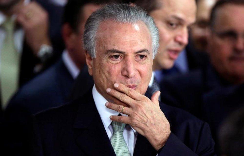 Temer no Planalto 12/5/2016 REUTERS/Ueslei Marcelino