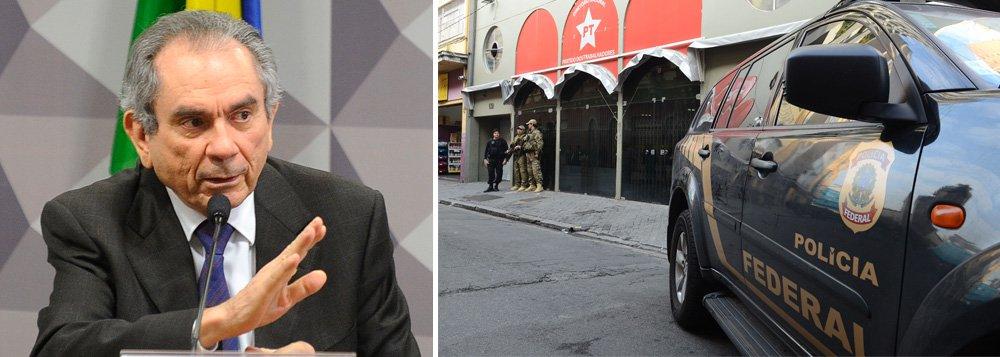 """Afirmação é do presidente da comissão, senador Raimundo Lira (PMDB-PB); """"É mais um fato lamentável que está acontecendo no país, mas esses assuntos, de maneira nenhuma, vão atrapalhar ou interromper os trabalhos ou o bom andamento da Comissão Especial do Impeachment"""", afirmou, em referência à Operação Custo Brasil, um desdobramento da Operação Lava Jato, que resultou na prisão do ex-ministro Paulo Bernardo"""
