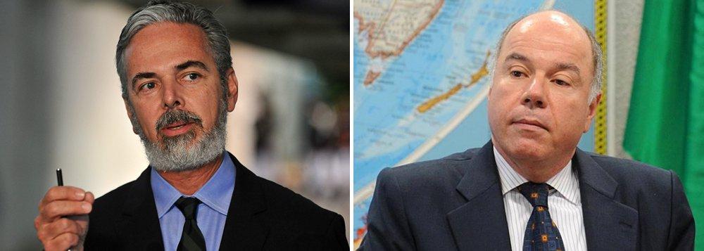 Chanceler José Serra (PSDB) nomeará Mauro Vieira, seu antecessor na pasta, embaixador do Brasil junto às Nações Unidas; Antonio Patriota, que hoje ocupa o posto, assumirá a embaixada brasileira em Roma
