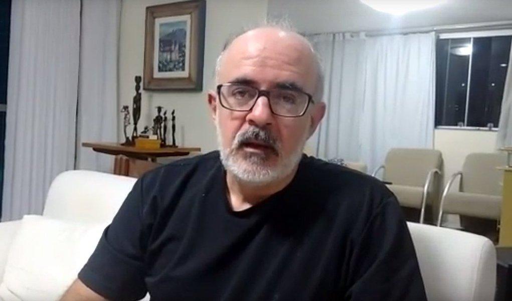 """Alexandre Mota, de Natal (RN), acusa a Lava Jato de ser seletiva contra o ex-presidente Lula; """"O ordenamento jurídico brasileiro estabelece que as pessoas são inocentes até que se prove o contrário. Isso não vale para petistas. E os procuradores da Lava Jato mostraram que vale muito menos para Lula"""", diz"""