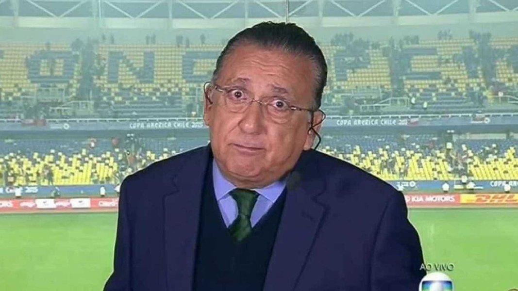 Apresentador e locutor Galvão Bueno