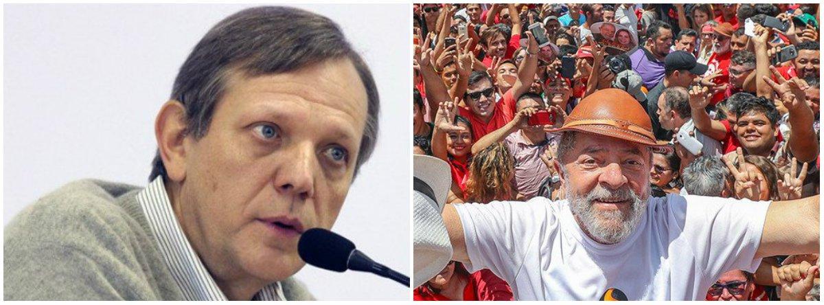 """""""Os miseráveis que receberam um auxílio se tornaram lulistas de carteirinha"""", diz o ex-porta-voz do governo Lula André Singer à BBC Brasil;"""" À medida que o lulismo foi se configurando como o resultado mais importante do realinhamento eleitoral, aquele que é o pivô do lulismo ganha uma força extraordinária e isso aconteceria em qualquer democracia"""""""