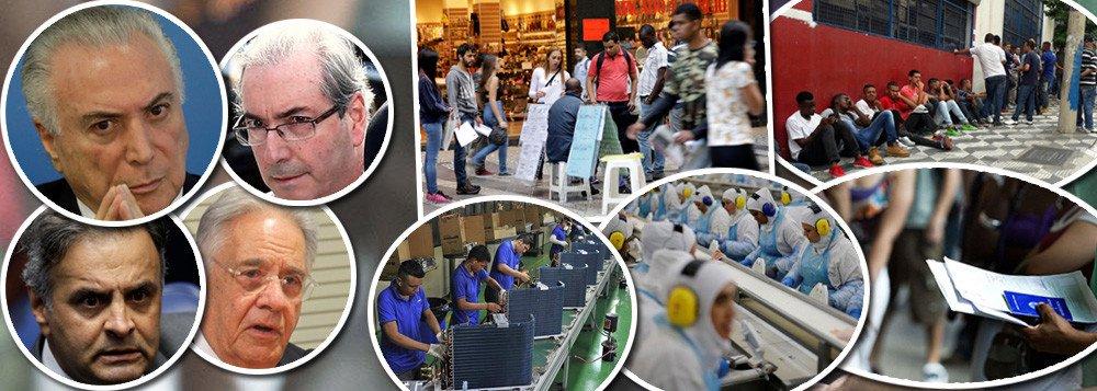 O Brasil precisará de pelo menos 10 para retomar o nível de emprego e renda alçado pelos governos Lula e Dilma; é o que revela o Índice Firjan de Desenvolvimento Municipal (IFDM) divulgado nesta quinta-feira (28) pela Federação das Indústrias do Estado do Rio de Janeiro (Firjan); o IFDM de Emprego e Renda do país ficou em 0,4664 em 2016, 14,6% abaixo de 2013 (0,5461); em 2014, o Brasil obteve a menor taxa de desemprego já registrada. Na média do ano, ficaram sem trabalho 4,8% dos brasileiros pesquisados pelo IBGE