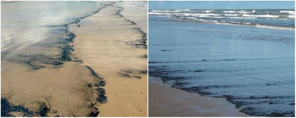 The Atalaia Waterfront in Aracaju was taken by an oil slick this Friday morning (27);  According to information from the State Administration of the Environment (Adema), the affected area corresponds to 4.5 kilometers of beaches, starting at the Coroa do Meio lighthouse until the bath of Doce Doce;  The recommendation is not to make use of the sea in these places;  Petrobras reported that the spot was found but there was no incident on the oil rigs