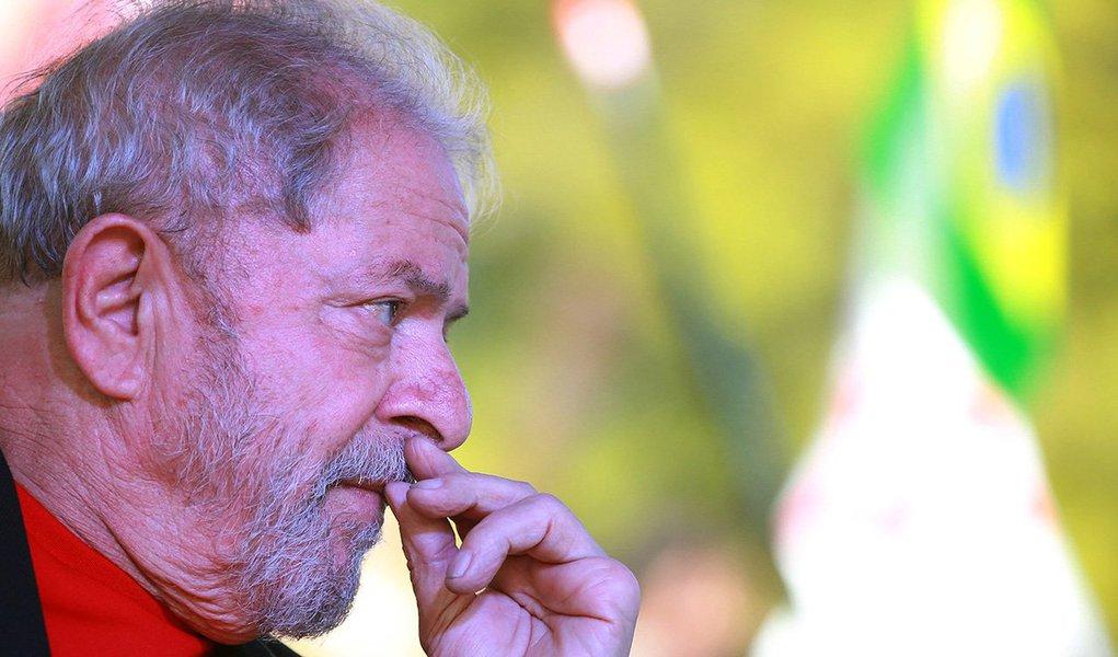 Ex-presidente Luiz Inácio Lula da Silva durante evento em Santana do Livramento, Rio Grande do Sul 19/03/2018 REUTERS/Diego Vara