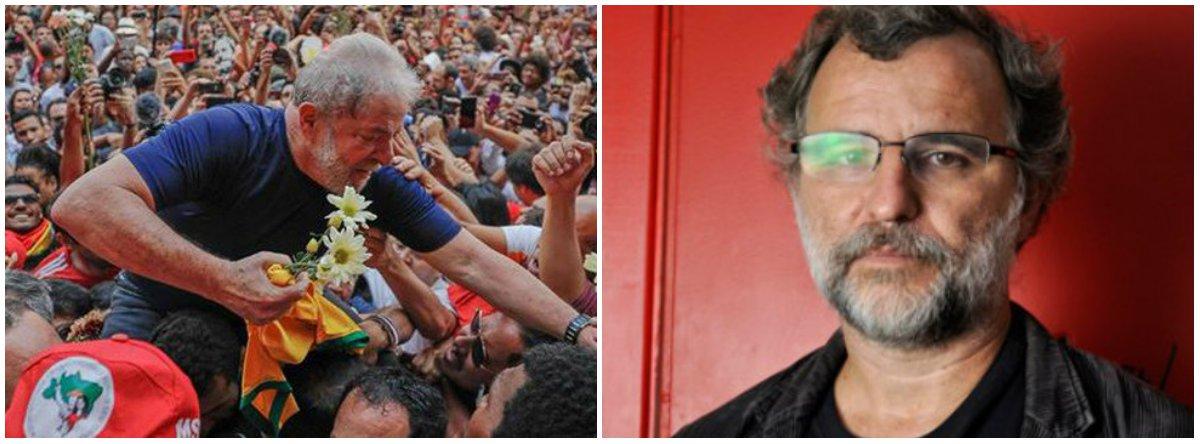 """Operadores jurídicos """"acreditam que, antecipando a interdição, a candidatura começaria a 'sangrar', a perder força, antes de 15 de agosto, impedindo Lula e o PT de 'decidirem o que fazer' em melhores condições"""", dizValter Pomar, integrante da Direção Nacional do PT"""