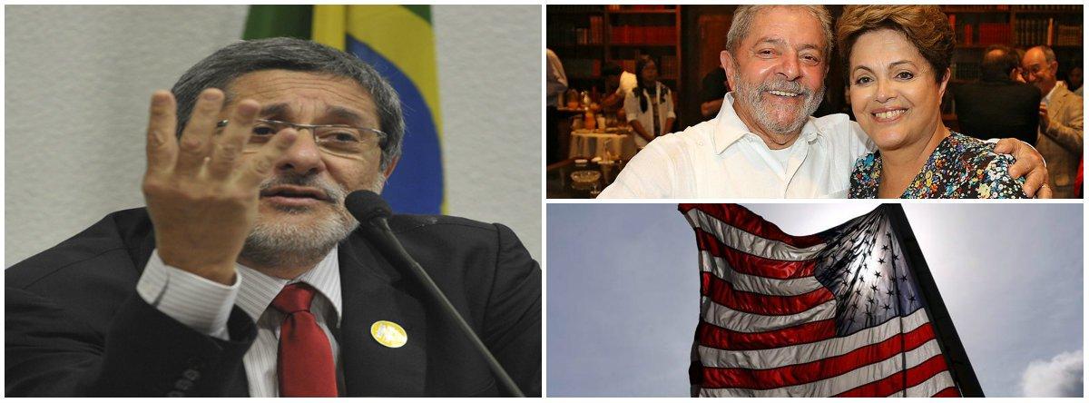"""No centro de uma disputa geopolítica entre China e EUA, como diz o ex-presidente da Petrobras José Sergio Gabrielli, o Brasil tornou-se uma """"pedra no sapato"""" norte-americano; """"Acho que o golpe de 2016 tem tudo a ver com a desmontagem desse sistema de acesso ao petróleo brasileiro"""", afirmou Gabrielli"""