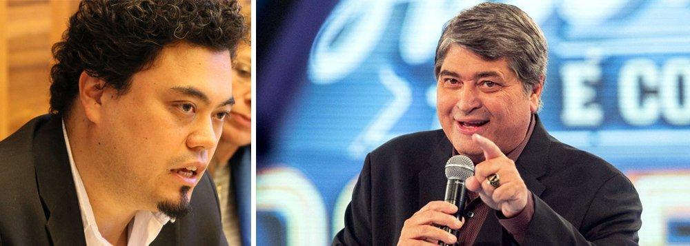 """Para o jornalista Leonardo Sakamoto o apresentador Datena não é apenas candidato a senador: """"Ele pode até dizer que não quer. Mas a pré-candidatura de José Luiz Datena (DEM-SP), um dos rostos mais conhecidos do país, ao Senado Federal nasce com um potencial de ''Plano B''. Ou, ao menos, uma espécie de elixir 'levanta-defunto' para chapas presidenciais"""", diz sobre a possibilidade dele compor uma chapa com o presidenciável Geraldo Alckmin (PSDB)"""