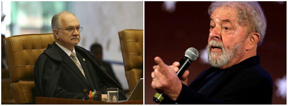 """""""Segundo o Regimento Interno do STF o papel das turmas consiste em analisar ações que não lidam com questões constitucionais, competência exclusiva do plenário"""", diz o colunista Alex Solnik; """"Então por que o sr. Fachin não mandou aquele habeas corpus de Lula do dia 4 de abril último para a 2ª. Turma? Poderia, se quisesse"""", afirma, acrescentando que a """"chicana de Fachin ficou ainda mais evidente agora que Dirceu foi colocado em liberdade""""; """"O plenário é a """"Câmara de Gás de Lula"""""""