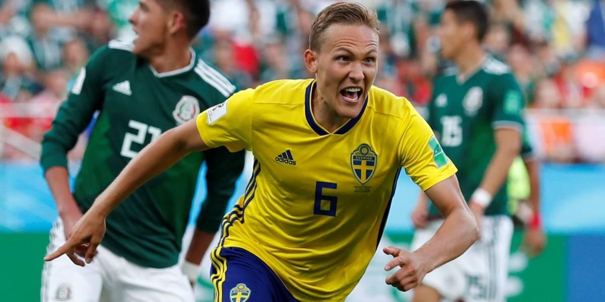Suécia vence o México por 3 x 0 e ambas as seleções se classificam para segunda fase da Copa do Mundo na Rússia