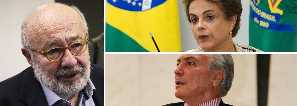 """Jornalista Ricardo Kotscho destacou nesta segunda-feria, 11, que independente do resultado do processo de impeachment contra a presidente Dilma Rousseff na Câmara, a situação da crise política no País não irá melhorar no curto prazo; """"Ganhando o """"sim"""" ou """"não"""", porém, não vamos ter paz tão cedo"""", afirmou; ele lembra que a última pesquisa Datafolha, divulgada no domingo, mortrou que 60% dos eleitores não querem nenhum dos dois e são a favor do impeachment de ambos""""; """"A maioria acha que Temer faria um governo igual ou pior do que o de Dilma."""""""