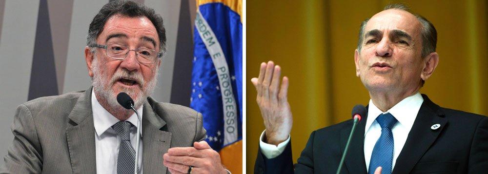 Presidente Dilma Rousseff renomeou os ministros da Saúde, Marcelo Castro, e do Desenvolvimento Agrário, Patrus Ananias; na semana passada, ela exonerou quatro ministros que têm mandato de deputado federal para que pudessem votar o processo de impeachment na sessão de domingo (17) no plenário da Câmara dos Deputados
