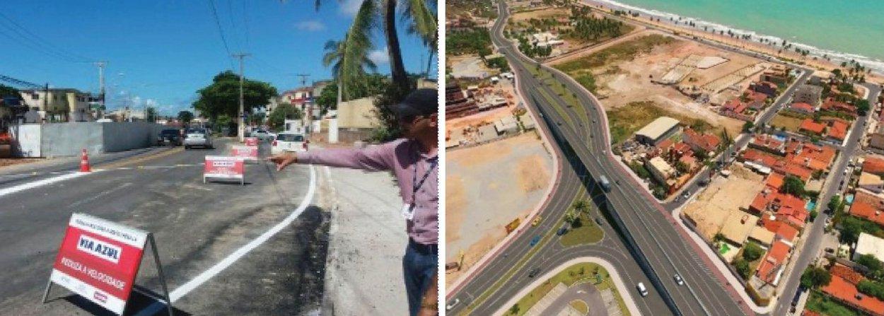 Os Ministérios Públicos Estadual e Federal de Alagoas pediram a paralisação da duplicação e restauração da rodovia AL-101 Norte, em Maceió, até que os responsáveis pela obra apresentem uma análise de impacto ambiental; os dois órgãos ministeriais acusam o IMA de abdicar do Estudo de Impacto Ambiental (EIA) e do Relatório de Impacto Ambiental (RIA) para concessão das licenças prévia e de instalação do empreendimento