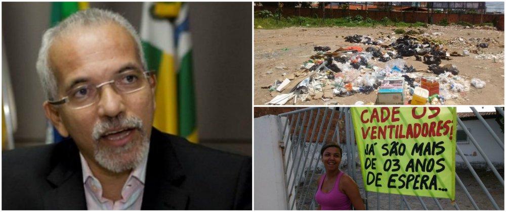 """O pré-candidato a prefeito de Aracaju pelo PC do B, Edvaldo Nogueira, está muito preocupado com o agravamento da crise do lixo na capital; ele pontua que, após mais de um mês, desde que a nova empresa de coleta de lixo começou a atuar na cidade, os problemas persistem, o que tem deixado a população indignada; Edvaldo ainda chama a atenção para problemas em outras áreas da gestão municipal, como a falta de atendimento em postos de Saúde; """"A situação é bastante grave em bairros como Coroa do Meio, Santa Maria, Aeroporto e Atalaia. Moradores destas localidades têm enviado fotos e vídeos que mostram que a situação é de completo descaso"""", relatou"""