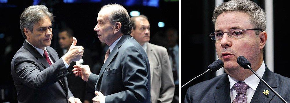 Dando como certa a votação favorável ao impeachment de Dilma Rousseff na Câmara, a bancada tucana do Senado já fala em Antonio Anastasia (MG) para assumir a relatoria ou a presidência da comissão que analisará o processo na casa; a sigla também definiu os outros nomes que irão compor a comissão: o líder Cunha Lima e o senador Aloysio Nunes