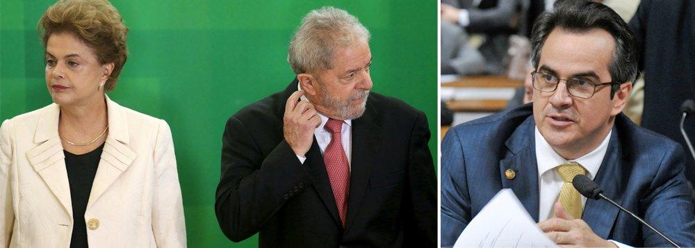 """Presidente Dilma Rousseff reuniu-se ontem com o ex-presidente Lula e o núcleo duro do governo para avaliar o cenário político após o PP, partido até então da base aliada, declarar voto favorável ao processo de impeachment por parte da maioria da bancada; o Planalto ainda não tem uma interpretação sólida sobre a movimentação do PP, mas avalia que, na conta mais pessimista, perdeu apenas dez votos, e que portanto mais de 200 deputados ainda continuam contrários ao prosseguimento do impeachment; ae acordo com o presidente da legenda, Ciro Nogueira, apesar de decidir pela entrega dos cargos que possui no governo, o partido não vai """"perseguir"""" quem discordar da decisão da maioria de apoiar o impeachment"""