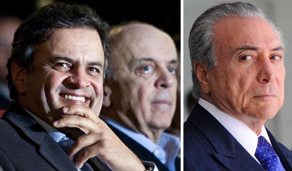 """""""Agora está na hora de a oposição cair na realidade. Está muito difícil conseguir o impeachment, não é provável uma condenação judicial e Dilma não dá mostra nenhuma de que possa renunciar. A população, ainda que reprovando e rejeitando o governo, está saturada da política e da politicagem e não vê, em tucanos e no PMDB, alternativas positivas para substituir Dilma"""", diz o colunista Hélio Doyle; """"O vice-presidente Michel Temer e seus colegas do PMDB, os tucanos de Aécio, Alckmin e Serra e seus aliados menores do DEM, do PPS e do Solidariedade têm um caminho melhor do que insistir na derrubada do governo por um golpe paraguaio: é se preparar para as eleições de 2016 e, principalmente, de 2018. Aí sim, com legitimidade, poderão derrotar o governo e ocupar o Palácio do Planalto. No voto"""""""