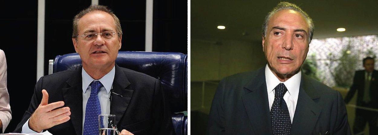 O presidente do Senado, Renan Calheiros (PMDB-AL), atuou nesta quinta (17) para aprovar um requerimento que determina uma auditoria do Tribunal de Contas de União (TCU) em sete decretos assinados pelo vice-presidente da República Michel Temer (PMDB) para abertura de crédito ao Orçamento; o caso pode dar subsídio para um pedido de impeachment contra Temer, pois a peça que pede o afastamento da presidente Dilma Rousseff do cargo lista decretos com a mesma característica; o requerimento de auditoria contra o vice foi apresentado pelo líder da minoria, Alvaro Dias (PSDB-PR)