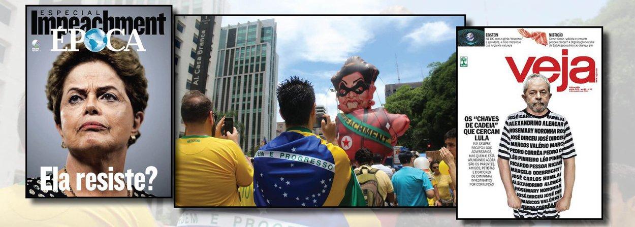 """""""Essa unanimidade ideológico-política dos meios de comunicação de massas é a mesma dos anos do pretérito. Que fizeram os governos democráticos – que fez a sociedade, que fez o Congresso, que fez o Judiciário – para enfrentar esse monstro antidemocrático que age sem peias, a despeito da ordem constitucional?"""", questiona em artigo Roberto Amaral, ex-ministro e fundador do PSB; Por que então essa oposição à Dilma se seu governo, como os dois anteriores de Lula, não ameaçou nem ameaça qualquer postulado do capitalismo, não ameaça a propriedade privada, não promoveu a reforma agrária, não ameaça o sistema financeiro, não promoveu a reforma tributária? Por que esse ódio vítreo da imprensa se sequer ousaram os governos Lula-Dilma regulamentar os meios de comunicação?"""", questiona ainda"""