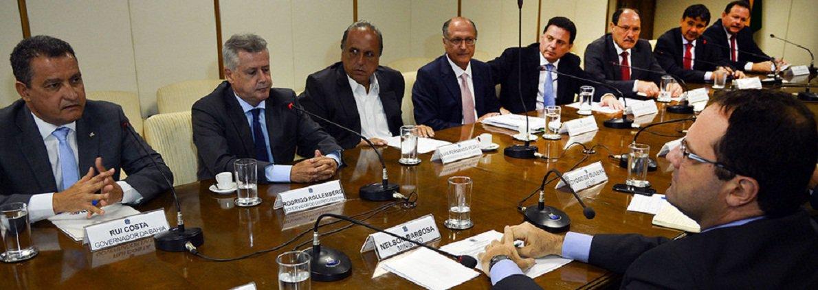 Brasília - Reunião de governadores com o ministro da Fazenda, Nelson Barbosa para discutir a crise econômica (Fabio Rodrigues Pozzebom/Agência Brasil)