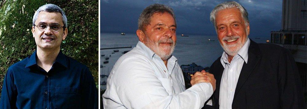 """""""Entre os propósitos de recentes declarações do ministro Jaques Wagner (Casa Civil), há um que não é secundário: a pretensão de concorrer à Presidência caso seu correligionário Lula não dispute a eleição de 2018"""", lembra o jornalista do Uol"""