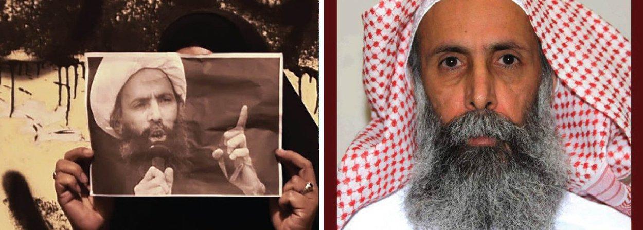 Arábia Saudita executou 47 pessoas, incluindo o xeique Nimr al-Nimr,clérigo da minoria xiita muçulmana; execuçãoprovocou reação contra a família Al Saud, que governa o país, e ameaça intensificar ainda mais a onda de conflito sectário na região; no Irã, uma teocracia xiita e rival da Arábia Saudita, mídias estatais exibiam a cobertura de clérigos e membros do governo elogiando Nimr e prevendo a queda da família sunita que governa a Arábia Saudita
