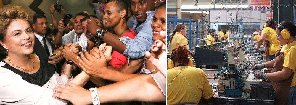 Apesar da crise econômica, presidente Dilma Rousseff mantém a política de reajustes reais do salário mínimo; com aumento de 11,1%, piso salarial no País irá de R$ 788 paraR$ 880,00 a partir da próxima sexta-feira, 1º de janeiro de 2016;decreto será publicado na edição desta quarta-feira 30 do Diário Oficial da União; número também é superior às previsões iniciais do Palácio do Planalto, que trabalhou com um valor de R$ 871; mais de 40 milhões de trabalhadores recebem o piso nacional