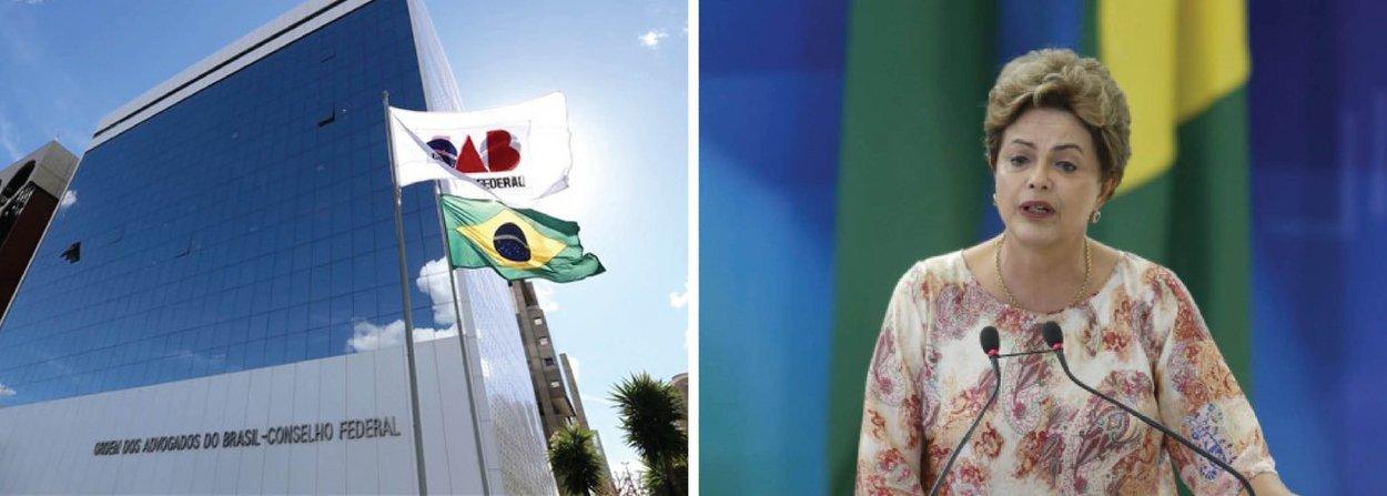 """Um grupo, formado inicialmente por advogados gaúchos, criou o movimento intitulado Advogados pela Legalidade e redigiu uma carta endereçada à OAB, alegando que não existe razão jurídica para pedir o impeachment da presidente Dilma Rousseff; """"Abundam as razões jurídicas a impedir que nossa entidade assuma qualquer outra posição que não a rejeição do impeachment pelas razões ora em análise"""", diz o texto; de acordo com documento, """"o impeachment é uma exceção que contraria a ordem natural da Democracia"""""""