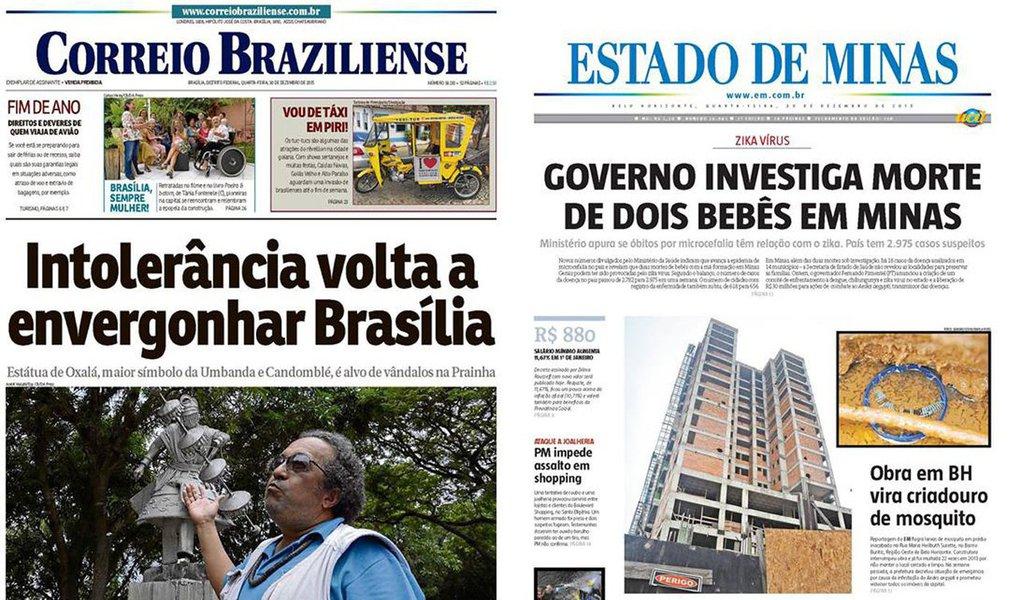 O fim de ano no mercado de mídia em Minas Gerais está sendo bastante movimentado. Após uma crise mais do que anunciada, prolongada por anos e anos, parece que a vida do Diários Associados por aqui está chegando ao fim