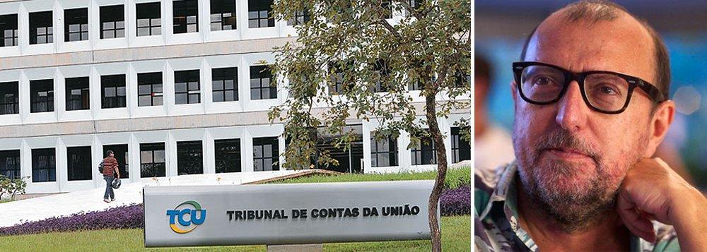 """""""Todo editor de respeito rejeitava manchete com TCU na linha de frente durante anos. Por que só vale contra Dilma?"""", questiona o jornalista no Twitter; jornais noticiaram com destaque ontem que o Tribunal de Contas da União cobra explicações do governo sobre a MP assinada pela presidente Dilma que regulamenta os acordos de leniência; Xico Sá diz apostar que """"há uma mentira planejada e golpista nas redações do Brasil"""""""