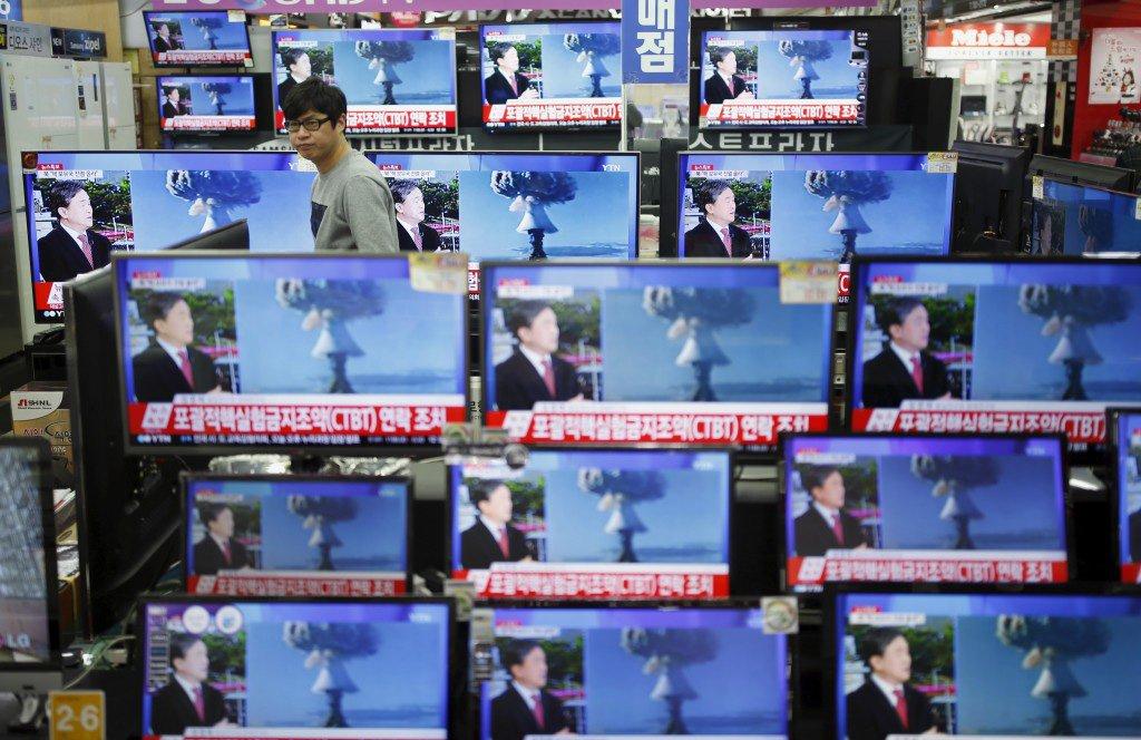 """""""Convoquei o embaixador da Coreia do Norte para sublinhar com a maior veemência a condenação britânica do teste nuclear"""", informou, em comunicado, o secretário de Estado para os Assuntos Asiáticos do Ministério dos Negócios Estrangeiros britânico, Hugo Swire"""