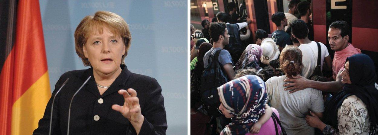 A Alemanha começará a realizar na sexta-feira (1) audiências individuais com sírios em busca de asilo no país, disse uma porta-voz do Ministério do Interior, revertendo a política de conceder status de refugiado quase automaticamente para os sírios; a chanceler alemã, Angela Merkel, várias vezes rejeitou a pressão para dificultar a chegada de imigrantes nas fronteiras alemãs, mas a oposição contra ela cresceu depois que dois terroristas dos ataques de 13 de novembro em Paris foram encontrados carregando passaportes falsos da Síria