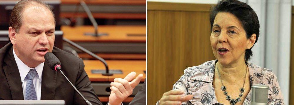 """Segundo Tereza Campello, o programa que hoje mantém 17 milhões de crianças nas escolas e possibilita acompanhamento médico a 9 milhões de famílias, gasta cerca de 0,5% do Produto Interno Bruto: """"Cinquenta milhões de pessoas. Metade, tem menos de 18 anos de idade"""", afirmou;declaração da ministra foi em decorrência da afirmação, nesta terça-feira, do relator do Orçamento do ano que vem, deputado Ricardo Barros (PP-PR), de que está analisando um possível corte de R$ 10 bilhões na verba do Bolsa Família"""