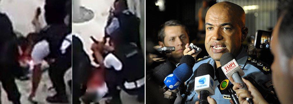 """O porta-voz das UPPs da PM do Rio de Janeiro, major Ivan Blaz, disse que a imagem desse projeto da segurança pública foi abalada pelas cenas gravadas em um celular e divulgadas nas redes sociais, em que quatro policiais militares, depois de balearem um rapaz de 17 anos, modificam a cena do crime para forjar um auto de resistência, no Morro da Providência, na região central do Rio; de acordo com o major Blaz, """"nossa obrigação maior é dar a devida resposta à sociedade. A desvio de conduta, não cabe explicação: cabe punição"""""""