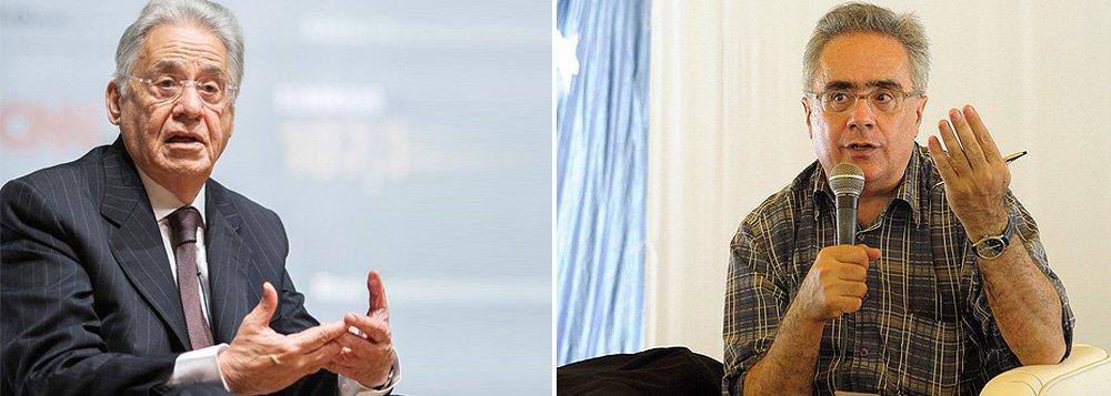 """Colunista Luis Nassif, no jornal GGN, questiona as memórias do ex-presidente tucano FHC, """"o mesmo que loteou a Petrobras para o grupo de Joel Rennó e admitiu que nada faria para mudar a situação""""; """"em um ponto ele foi nitidamente superior a Lula: na capacidade de entender o jogo dos demais poderes de Estado - Polícia Federal, Ministério Público, Justiça - e saber conservá-los sob redea curta"""""""