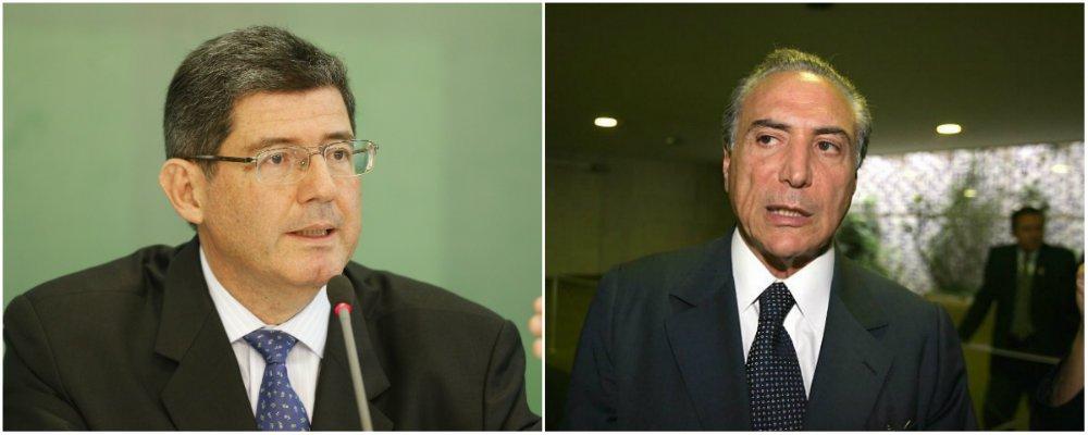 """O ministro da Fazenda, Joaquim Levy, reagiu com ironia ao comentar a avaliação feita pelo vice-presidente Michel Temer de que dificilmente a nova CPMF passa pelo Congresso; """"Ótimo. Então, ele quer a reforma da Previdência. Precisamos de um reequilíbrio fiscal. Como ele conhece o Congresso, está dizendo que vai aprovar a reforma da Previdência"""", disse; para Levy, o """"importante é a manutenção dos vetos"""" da presidente Dilma Rousseff à pauta bomba do Congresso"""