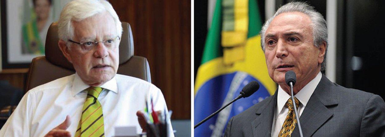 """Quem escreveu a carta à presidente Dilma e convenceu o vice, Michel Temer, a enviá-la foi seu escudeiro Moreira Franco, presidente da Fundação Ulysses Guimarães;o escriba, dizem peemedebistas da ala governista, não se furtou mesmo a um auto-elogio, reclamando com Dilma, em nome de Temer, do fato de ela não o ter mantido na Secretaria de Aviação Civil, onde fez um """"belíssimo trabalho""""; no encontro que deverá ter hoje com Dilma, o vice dirá queficou chateado com o vazamento"""