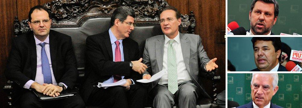 """Conforme afirma Tereza Cruvinel, colunista do 247, """"são remotas as possibilidades"""" de que o presidente do Congresso, Renan Calheiros (PMDB-AL), devolva ao governo a peça orçamentária de 2016, com déficit de R$ 30,5 bilhões, apesar da grande pressão neste sentido por partede líderes da oposição, como Carlos Sampaio (PSDB), Mendonça Filho (DEM) e Rubens Bueno (PPS); """"Renan não está considerando esta hipótese, nem existem bases legais para isso. O déficit também não acarreta qualquer criminalização para a presidente Dilma Rousseff, já disseram consultores jurídicos ouvidos pela oposição"""", destaca a jornalista"""
