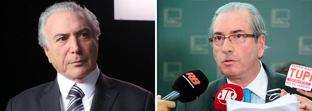 """Para o jornalista Fernando Brito, do Tijolaço, a carta do vice-presidente Michel Temer à presidente Dilma Rousseff revela """"rancor e pequenez. E mais: sua adesão ao golpismo""""; ele critica o silêncio do vice em relação à aceitação, por Eduardo Cunha, do processo de impeachment de Dilma; """"Nenhuma palavra sobre a atitude mesquinha e chantagista de Eduardo Cunha, que está diante dos olhos de todo o país como uma chantagem e uma vingança sórdida. Desde o processo que levou este facínora à presidência da Câmara, o senhor calou-se"""", afirma"""