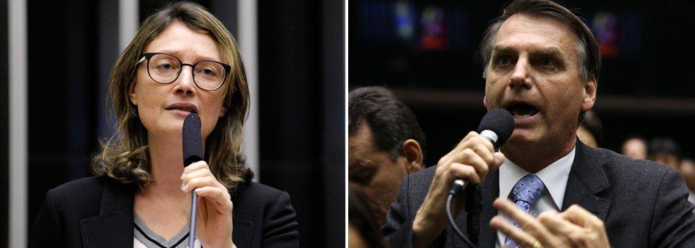 Bolsonaro é condenado a indenizar Maria do Rosário
