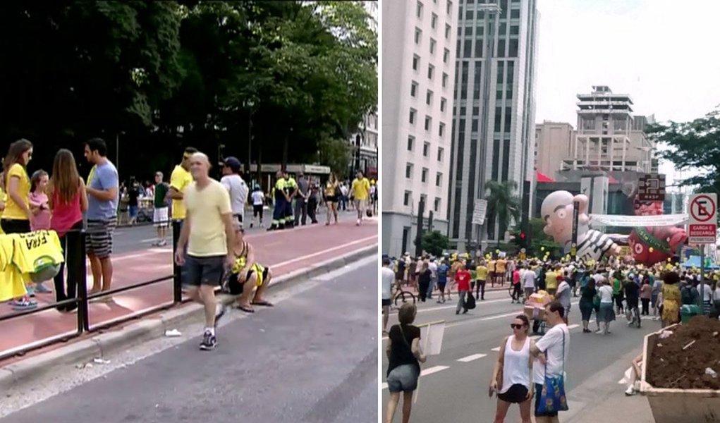 O dia em que os golpistas se renderam ao charme da Paulista Aberta, obra do petralha Fernando Haddad