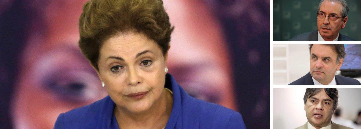 """Colunista do 247, Alex Solnik elenca os crimes estabelecidos na lei que abrem caminho para um pedido de impeachment e questiona se a presidente Dilma Rousseff praticou algum deles; por isso, frisa ele, a prova mais evidente de que os argumentos jurídicos são ralos e escassos foi fornecida por um dos fanáticos do impeachment, Cássio Cunha Lima (PSDB); """"Sem rua não tem impeachment"""", afirmou o tucano; ou seja, não há razão para o impedimento de Dilma, como tentam fazer parecer Eduardo Cunha, Aécio Neves e aliados"""