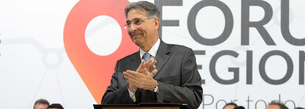 O governador Fernando Pimentel