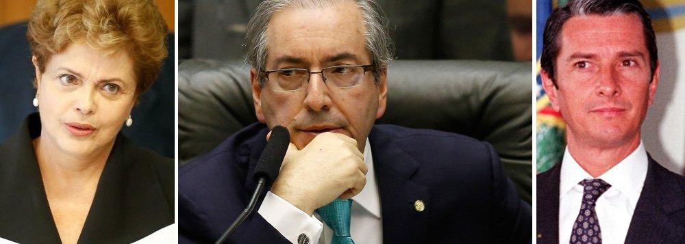 """Para a jornalista Tereza Cruvinel, as diferenças entre as duas situações """"sugerem que, hoje, o caso de Dilma está mais para o de Getúlio Vargas, que derrotou um processo de impeachment, do que para o de Collor""""; além de a atual presidente não estar tão isolada quanto estava Fernando Collor, o ex-presidente """"foi acusado de participar de um esquema de corrupção e surgiram provas de que ele se beneficiou dele"""", enquanto Dilma """"é acusada de um crime de difícil compreensão"""", o que não contribui com a mobilização popular, aponta a colunista do 247; ela destaca também que """"a origem vingativa da autorização do processo conta, bem como a vulnerabilidade moral de quem o autorizou, o deputado Eduardo Cunha"""""""