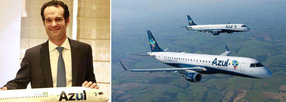 Valor pago avalia a Azul em US$ 1,8 bilhão, ou cerca de R$ 7 bilhões; conglomerado chinês, que tem uma receita anual de US$ 25,6 bilhões, já controla 14 empresas aéreas que tem uma frota de 524 aviões dos modelos da Boeing, Airbus e Embraer; segundo o presidente da Azul, Antonoaldo Neves, a verba pode ser usada para melhorar o perfil de dívida por meio, por exemplo, de antecipação de compromissos mais caros