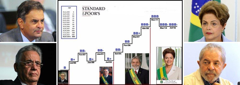 Em matéria de risco, PSDB não pode cantar de galo